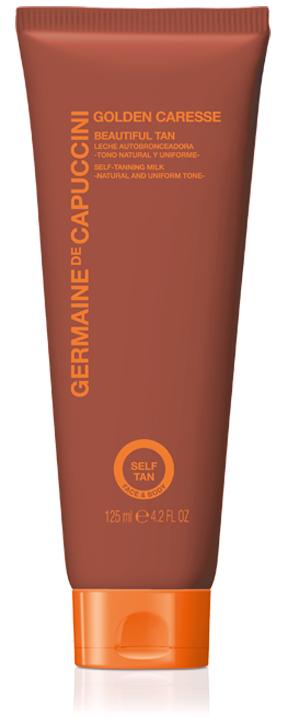 Beautiful Tan Selbstbräunungsmilch für Gesicht und Körper von Germaine de Capuccini erhältlich bei Sphinx Design Kosmetikstudio Simone Burghard in CH-8371 Busswil TG bei Wil