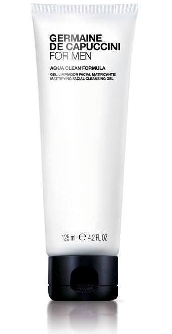 FOR MEN AQUA CLEAN Reinigungsgel Mattierendes Gesichts-Reinigungsgel zum entfernen von Schmutz und Unreinheiten. Nimmt den Fettüberschuss und beugt Entstehung von Pickel und Mitesser vor. Formel gegen Spannungsgefühl und Trockenheit, um die Haut geschmeidig zu erhalten und mit Feuchtigkeit zu versorgen. Für jeden Hauttyp geeignet. Germaine de Capuccini FOR MEN wurde speziell für die Bedürfnisse der Männerhaut entwickelt. Anti-Aging- und Feuchtigkeits-Pflege, Reinigung und Rasur, Anti Stress Pflege, Fragrance Parfum. Exklusiv erhältlich bei Sphinx Design Kosmetikstudio Simone Burghard in CH-8371 Busswil TG bei Wil